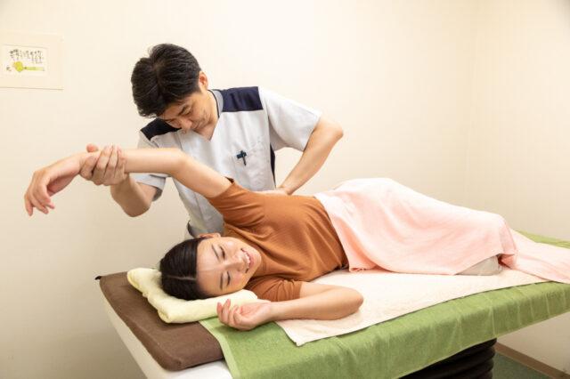 肩関節の確認